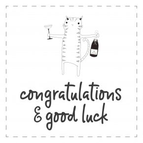 Congrats & Good Luck