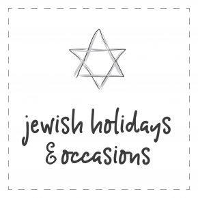 Jewish Holidays & Occasions