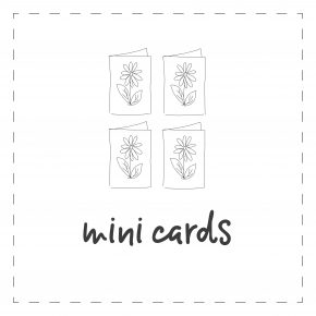 A7 Mini Cards (4-pack)