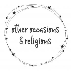 Other Occasions & Religions