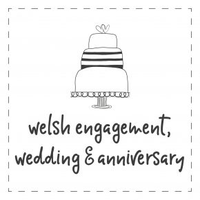 Welsh - Engagement, Wedding & Anniversary