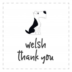 Welsh - Thank you
