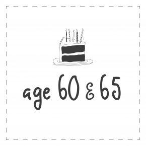 Age 60 & 65