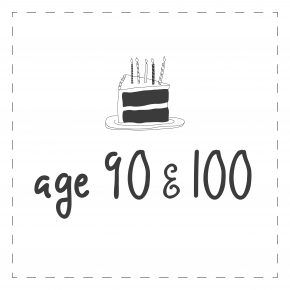 Age 90 & 100