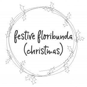 Festive Floribunda (Christmas)