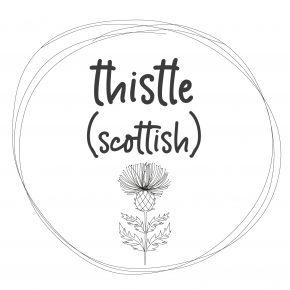 NEW! Thistle (Scottish)