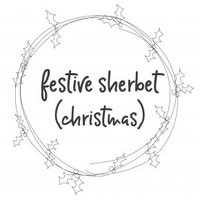 Festive Sherbet (Christmas)